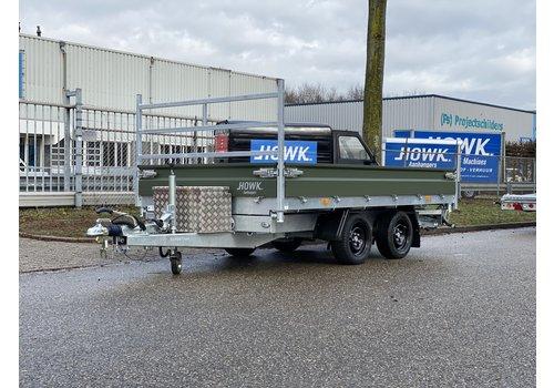 Hapert Aanhangwagens Hapert Cobalt Army 335x180cm 3000kg