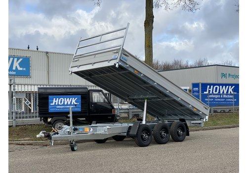 Hapert Aanhangwagens Hapert Cobalt HM-3 Ferro 405x200cm 3500kg Tridem