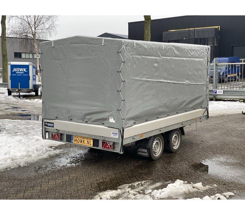 Nieuwe Hapert Azure met huif 335x180x150cm ( 2000kg )