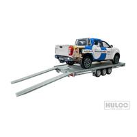 Hulco Carax-3 540x207cm 3500kg Multitransporter
