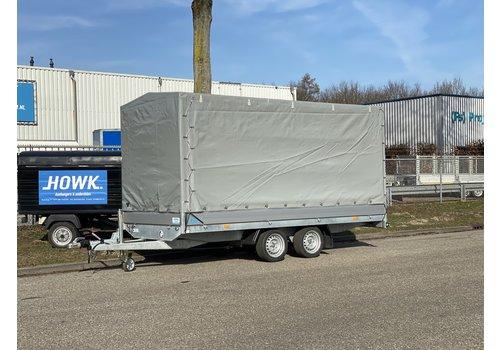 Hapert Aanhangwagens Nieuwe Hapert Azure met huif 405x180x180cm ( 2700kg )