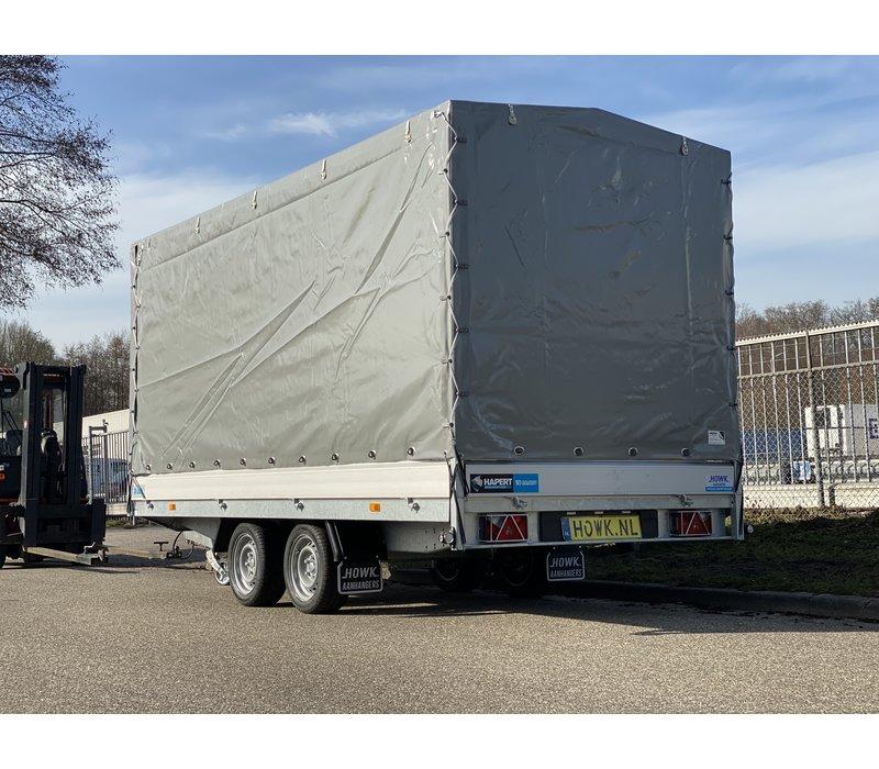 Nieuwe Hapert Azure met huif 405x180x180cm ( 2700kg )