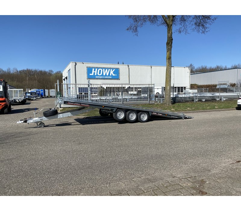 Brian James T6 230-6563 Auto transporter 550x220cm ( 3500kg )