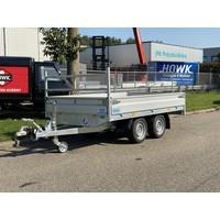 Nieuwe Hapert Azure H2 plateauwagen 305x160cm 2000kg