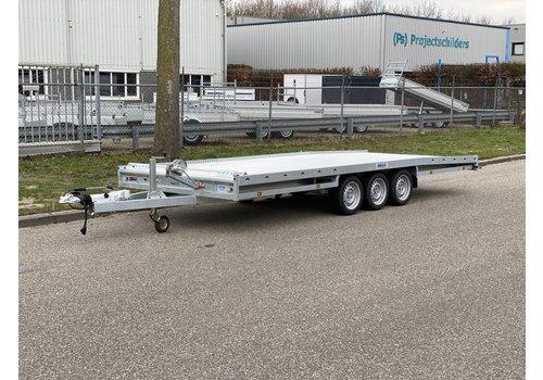 Hulco Aanhangwagens Hulco Carax-3 540x207cm 3500kg + Lier + Wielstop