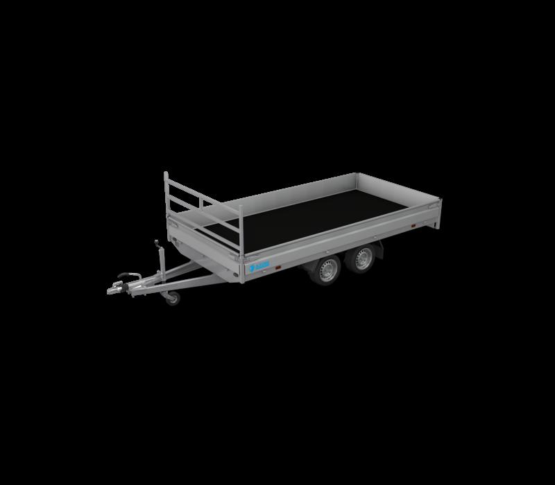Nieuwe Hapert plateauwagen 405x180cm 2700kg