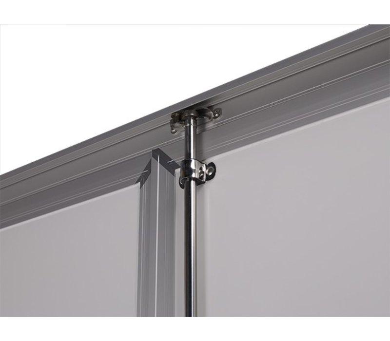 Hapert Sapphire 250x130x150cm + zijdeur 1350kg