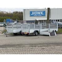 Anssems GT + Loofrek 251x126x100cm 750kg Ongeremd