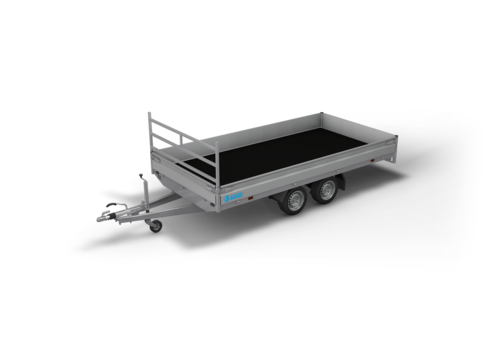 Hapert Aanhangwagens Hapert Azure H2 plateauwagen 405x200cm 3000kg