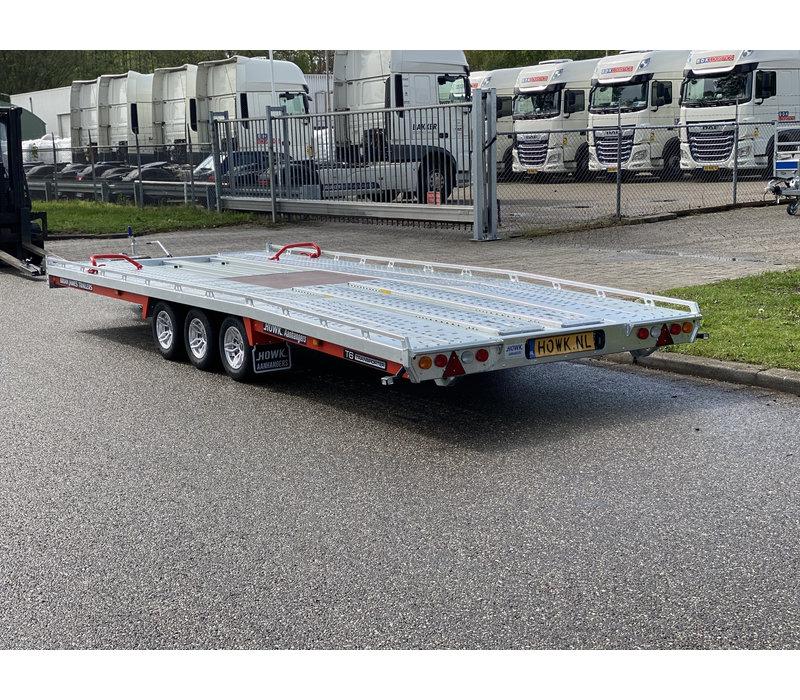 Brian James T6 Auto transporter 550x220cm ( 3500kg ) met oprijplaten