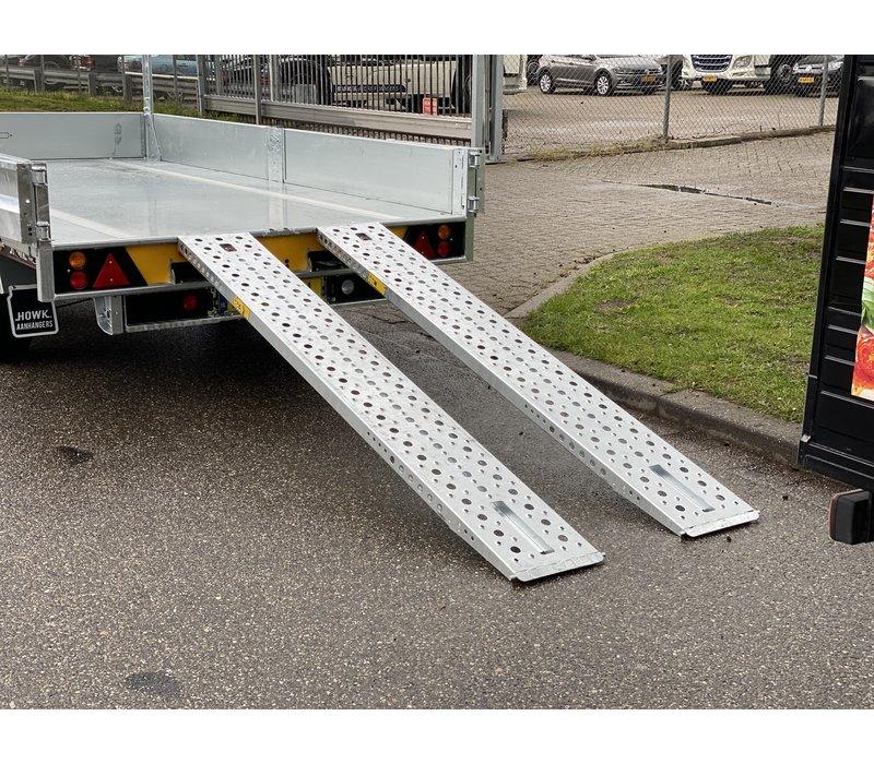 Brian James Cargo Tipper 2  360x195cm ( 3500kg ) met deuren