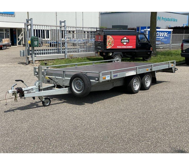 Gebruikte Saris kantelbare transporter 409x202cm 2700kg