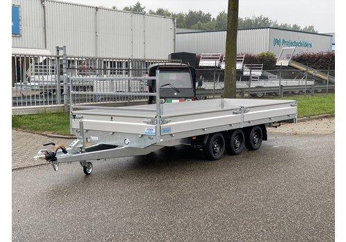 Hapert Aanhangwagens Nieuwe Hapert Plateauwagen 505x200cm ( 3500kg ) met paraboolvering