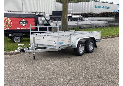 Hapert Aanhangwagens Actie model Hapert Azure L-2 bakwagen 300x150cm (2000kg)