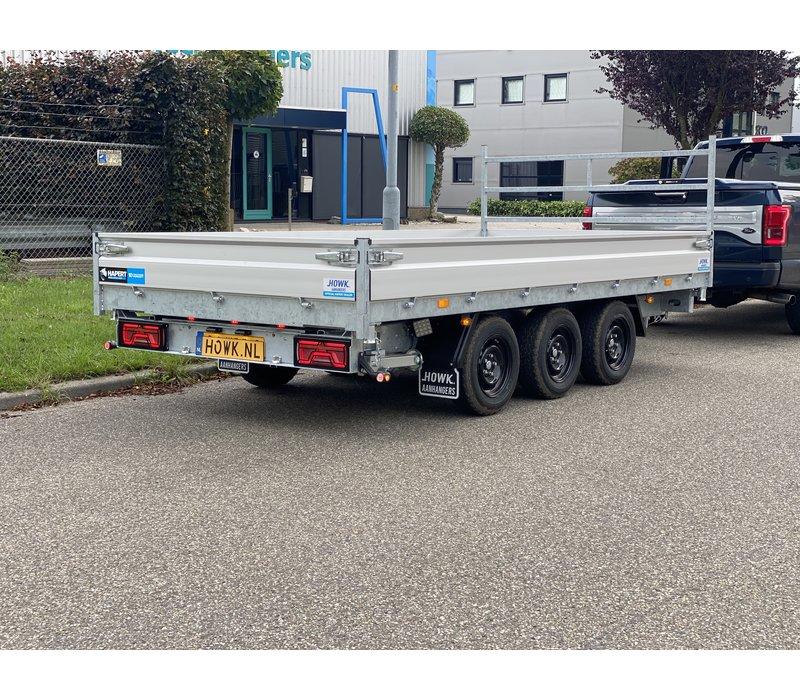 Hapert Cobalt HM-3 Ferro 405x200cm 3500kg Tridem + Led pakket