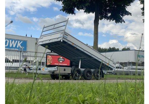 Hapert Aanhangwagens Hapert Cobalt HM-3 Ferro 405x200cm 3500kg Tridem + Led pakket