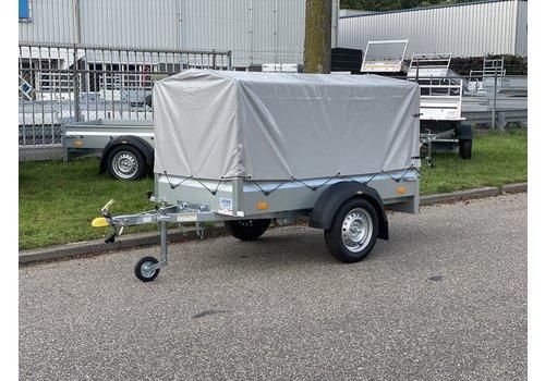 Humbaur Humbaur bakwagen met huif 205x110x100cm ( 750kg ) Kantelbaar