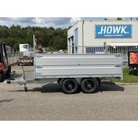 Hapert Azure plateauwagen 335x180x80cm 3500kg + Paraboolvering