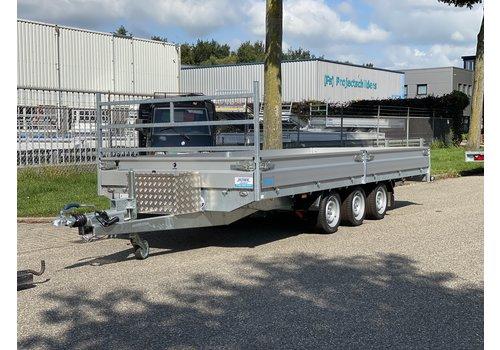 Hapert Aanhangwagens Demo Hapert plateauwagen 505x200cm 3500kg Tridem