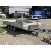 Demo Hapert plateauwagen 505x200cm 3500kg Tridem