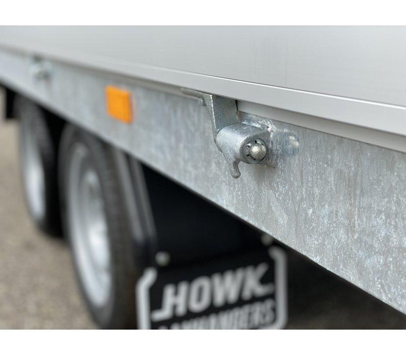 Hapert Azure h2 plateauwagen 330x180cm 2000kg