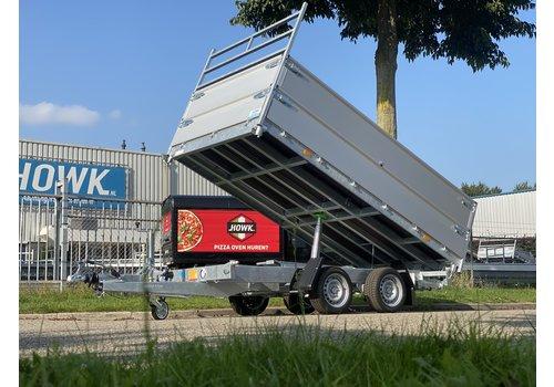 Hapert Aanhangwagens Hapert 3-zijdige kieper 335x180x80cm 3000kg