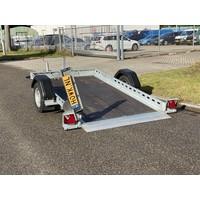 Gebruikte kantelbare trailer 260x155cm 750kg