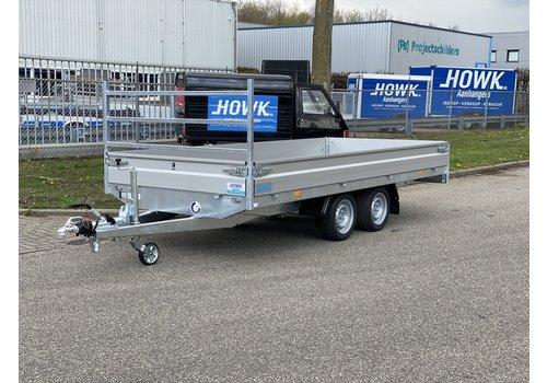 Hapert Aanhangwagens Nieuwe Hapert Multitransporter 405x180cm 2700kg