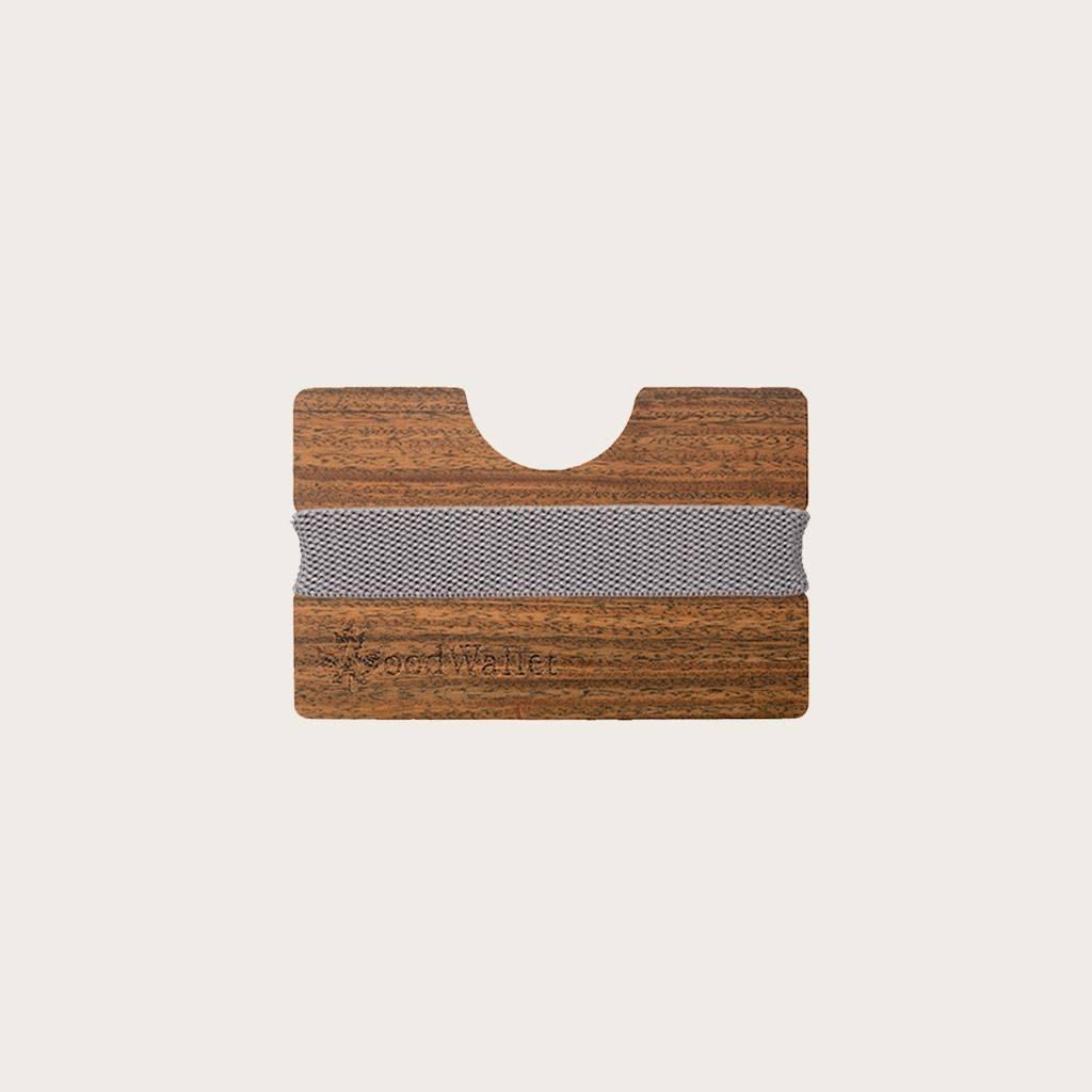Een kaarthouder die, ondanks zijn compate formaat, tot wel 8 kaarten voor je kan bewaren. De WoodWallet is gemaakt van hoogwaardige houtsoorten die passen in een milieuvriendelijke levensstijl. Om je WoodWallet te personaliseren, kan je een persoonlijk be