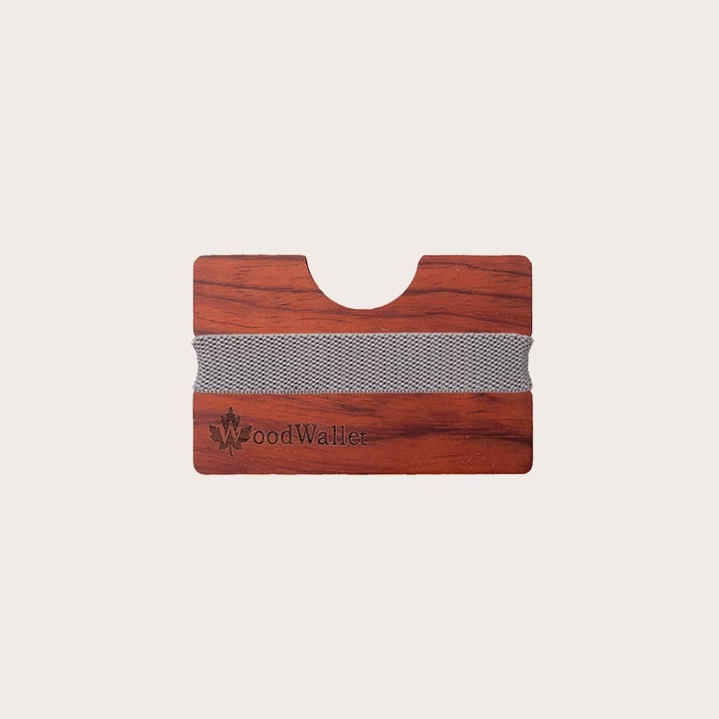Die WoodWallet bietet Platz für bis zu 8 Kreditkarten in einer kompakten und leicht zugänglichen Weise. Die WoodWallets sind qualitativ hochwertig, äußerst haltbar und die verschiedenen Holzarten mit einzigartigen Mustern und Maserungen tragen zum Element