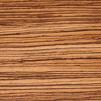 Zebra texture wood sample