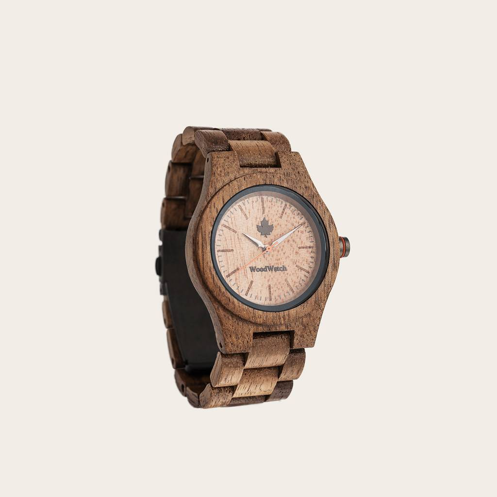 woodwatch women wooden watch core collection 36 mm diameter koa acacia wood