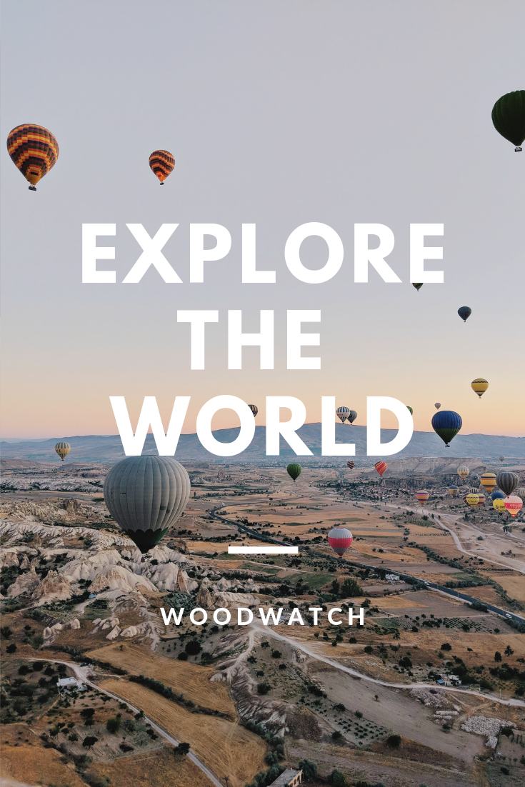 Explore the world.