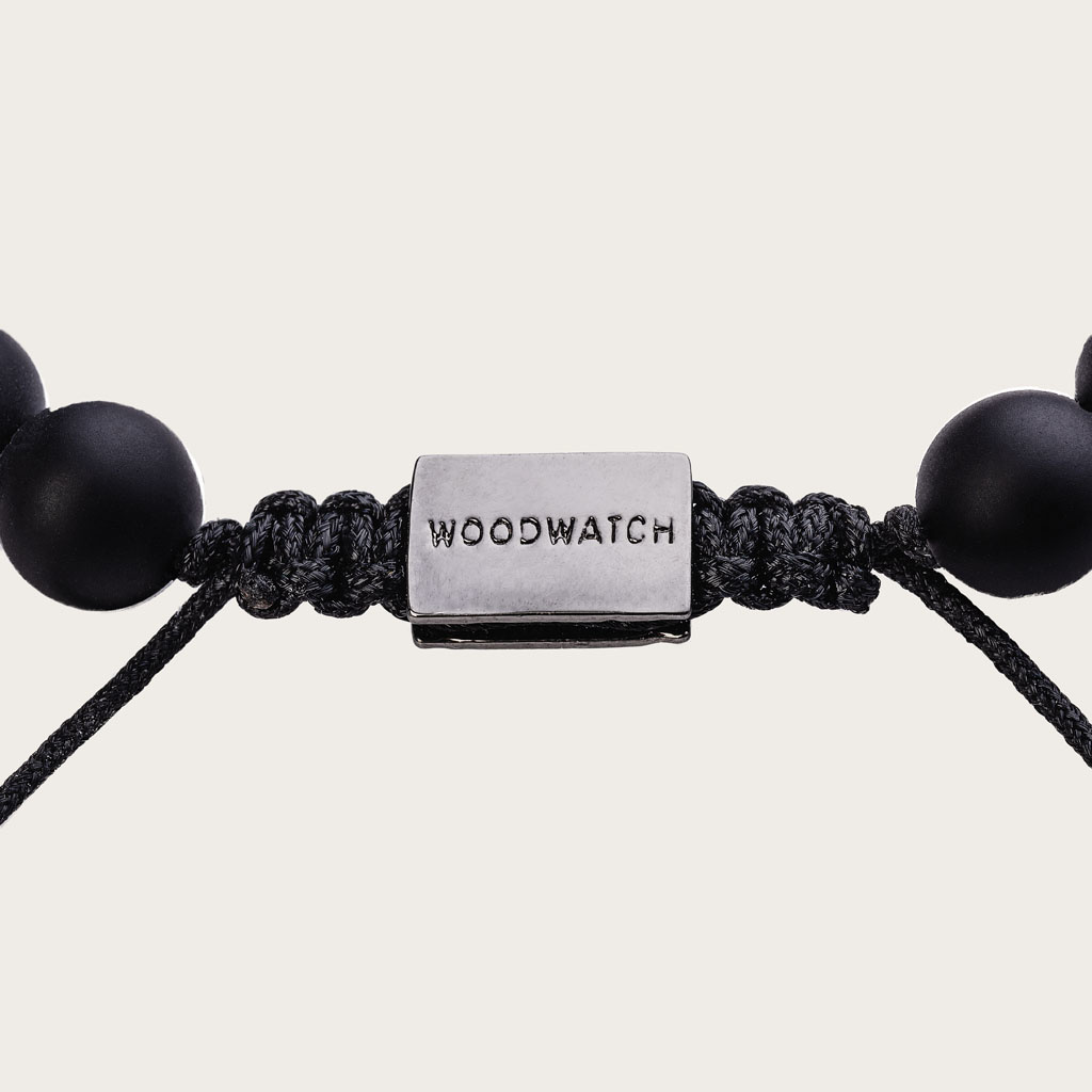 woodwatch mann frau hölzern armband  8 mm durchmesser Pinewood Agate