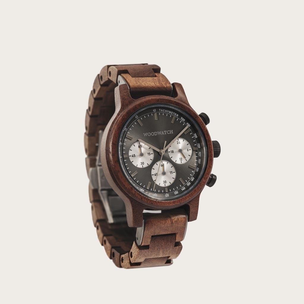 WoodWatch Orologi in Legno | Chrono Slate