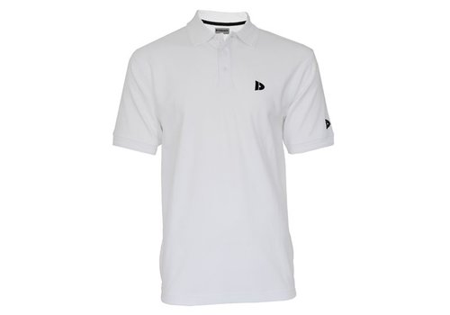 Donnay Donnay Polo shirt Noah - Wit