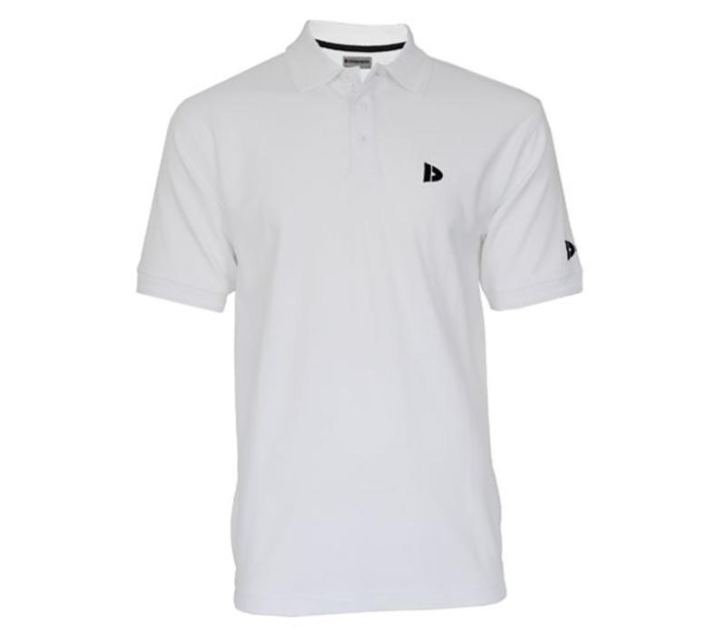 Donnay Polo pique shirt - Wit