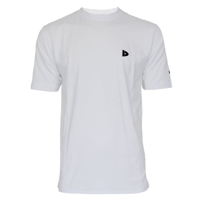 Donnay Heren - T-Shirt Vince - Wit