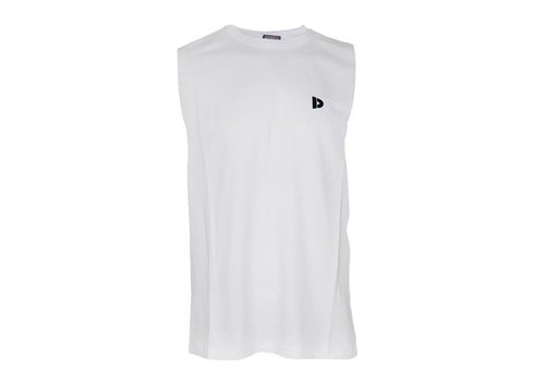 Donnay Donnay Mouwloos T- Shirt - Wit