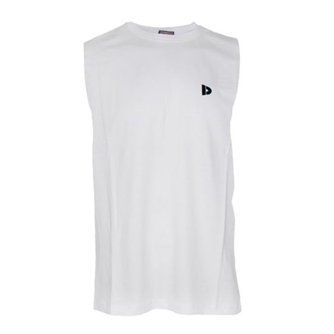 Donnay Heren - Mouwloos T-shirt - Wit