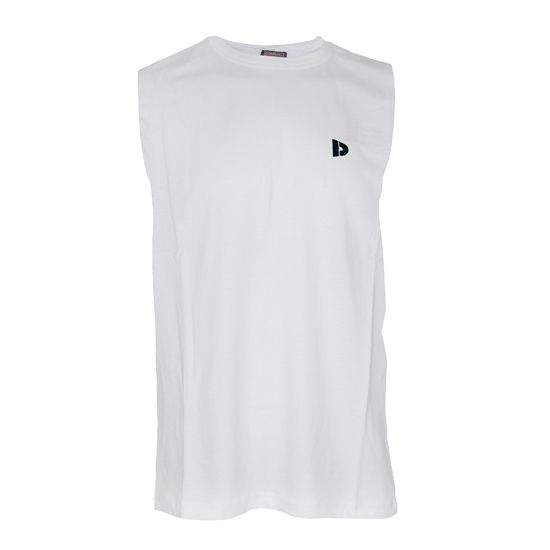 Donnay Donnay Heren - Mouwloos T-shirt - Wit