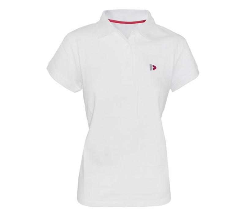 Donnay Polo shirt Dames - Wit