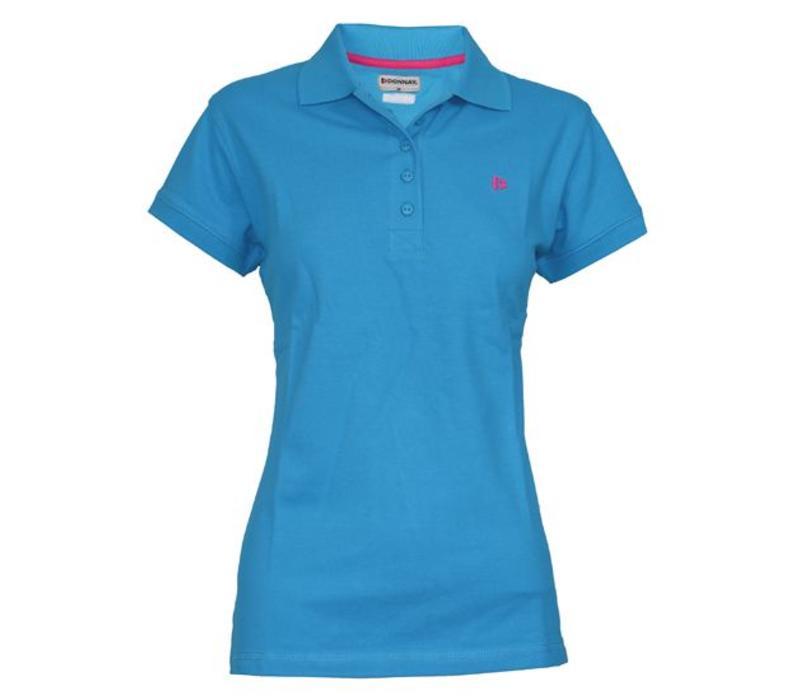 Donnay Polo shirt Dames - Midden blauw
