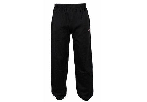 Donnay Donnay Joggingbroek dunne kwaliteit met boord - Zwart