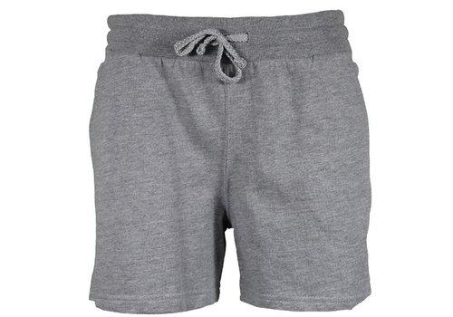 Donnay Donnay Kort joggingshort - Dames - Midden grijs gemêleerd
