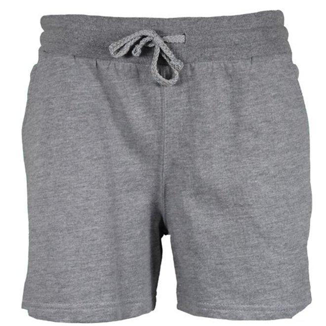 Donnay Dames - Kort joggingshort - Midden grijs gemêleerd