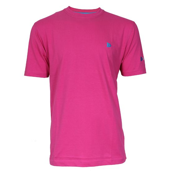 Donnay Donnay Heren - T-Shirt Vince - Donker Roze