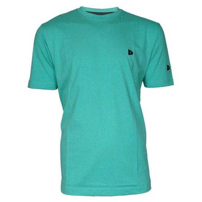 Donnay Heren - T-Shirt Vince - Zeegroen