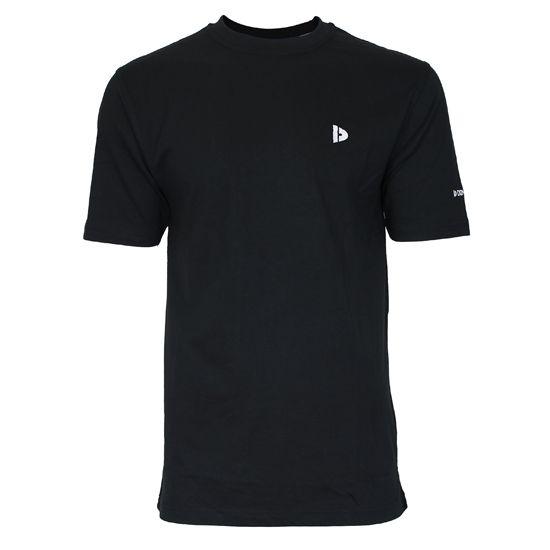 Donnay Donnay Heren - T-Shirt Vince - Zwart