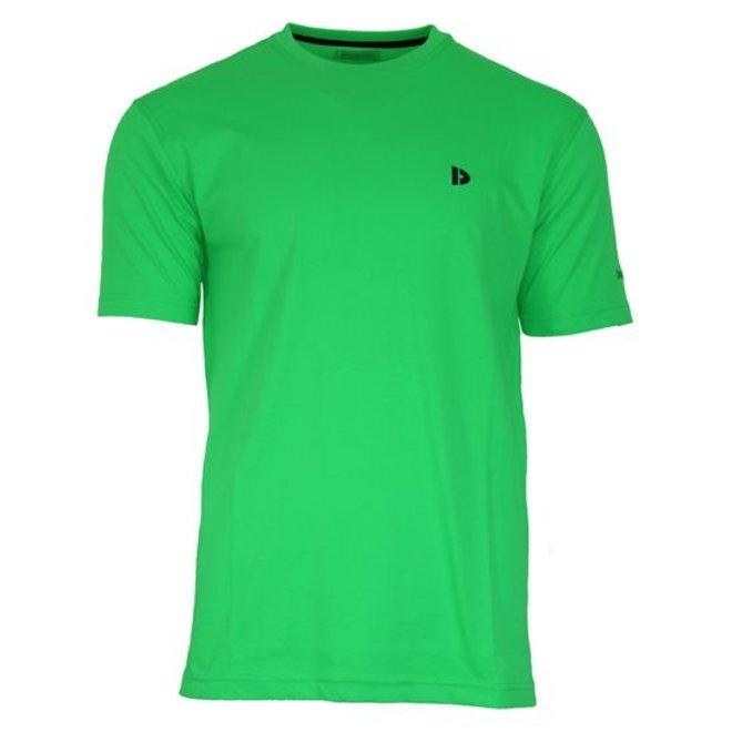 Donnay Heren - T-Shirt Vince - Appelgroen